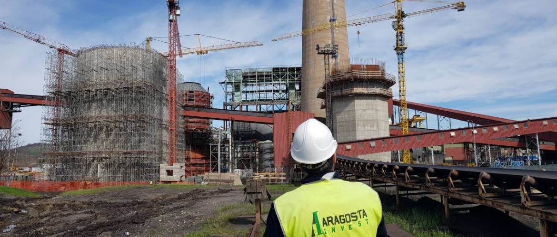 Construction of flue-gas desulphurisation system in RITE Ugljevik