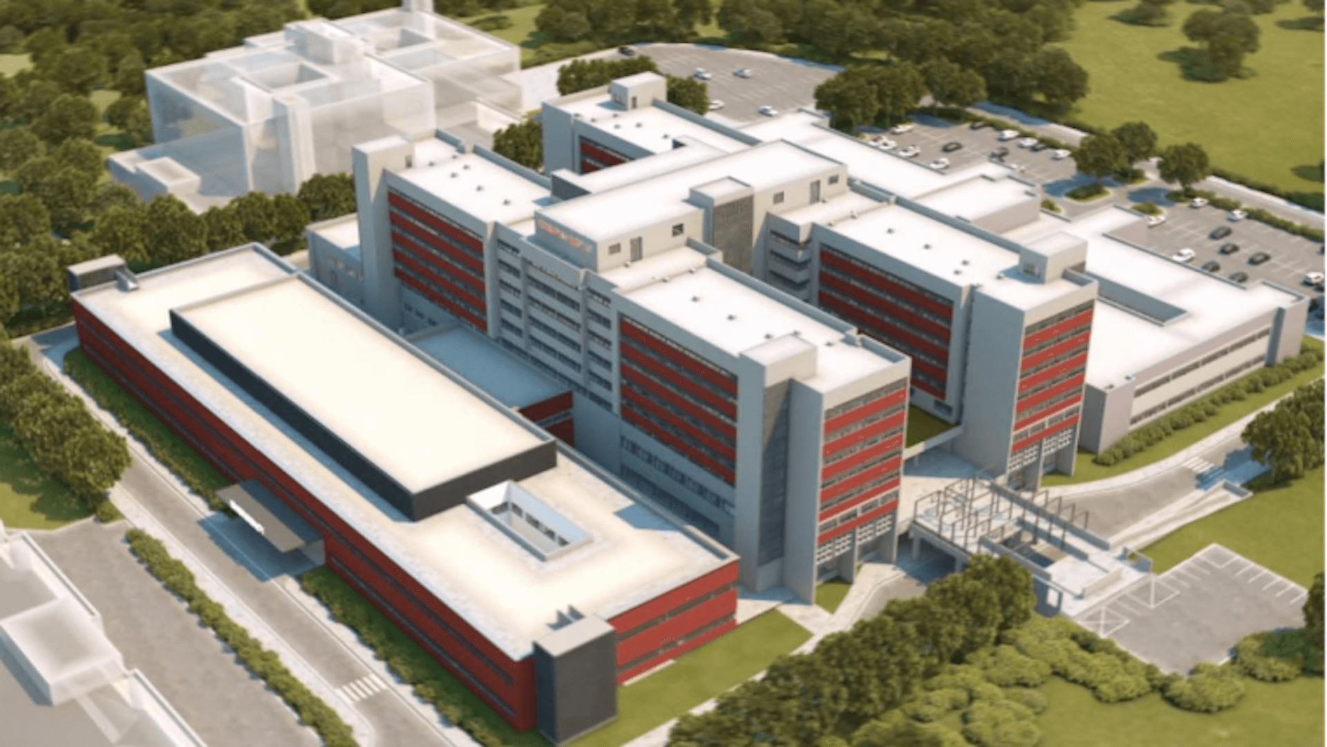 Izgradnja Sjevernog krila i rekonstrukcija Centralnog medicinskog bloka UKC RS