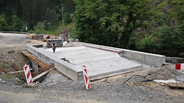 Izgradnja mosta u Gornjoj Šnjegotini, Teslić